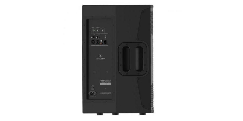 mackie srm550 altavoz amplificado panel conexiones