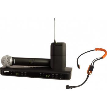 SHURE BLX1288 SM31 Microfono inalambrico dual de Mano y Diadema