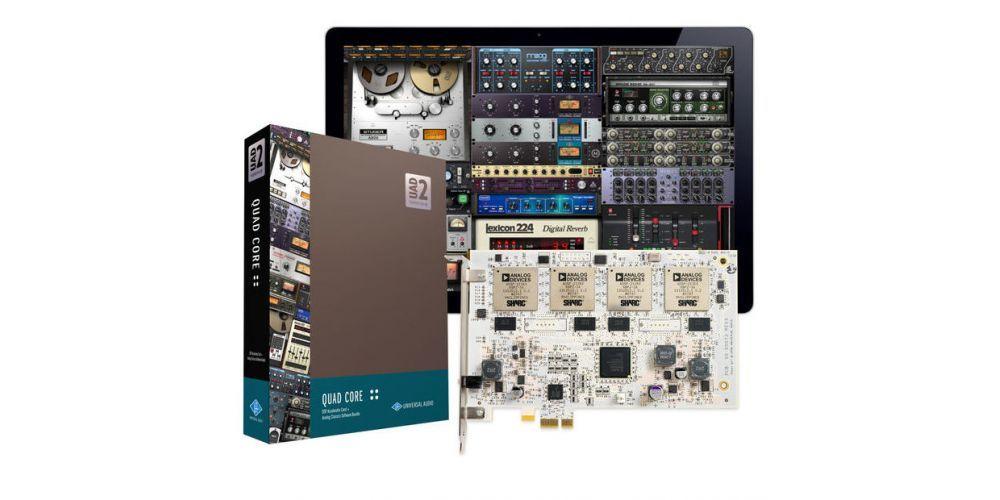 universal audio uad2 quad core pcie