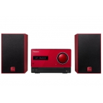 PIONEER XCM35-R Micro Cadena HiFi  Bluetooth Rojo