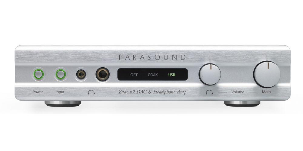 parasound zdac v2 silver conversor dac