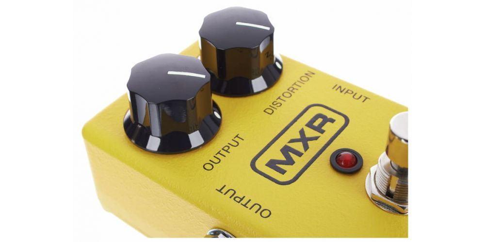 pedal mxr m104 distotion plus controles