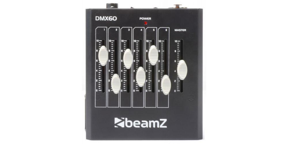 BEAMZ DMX60 Controladora 6 canales 154032