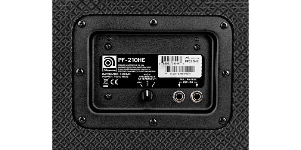 ampeg pf 210he flip top conect