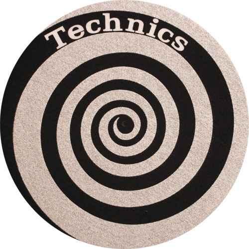 zomo slipmat technics spirale silver