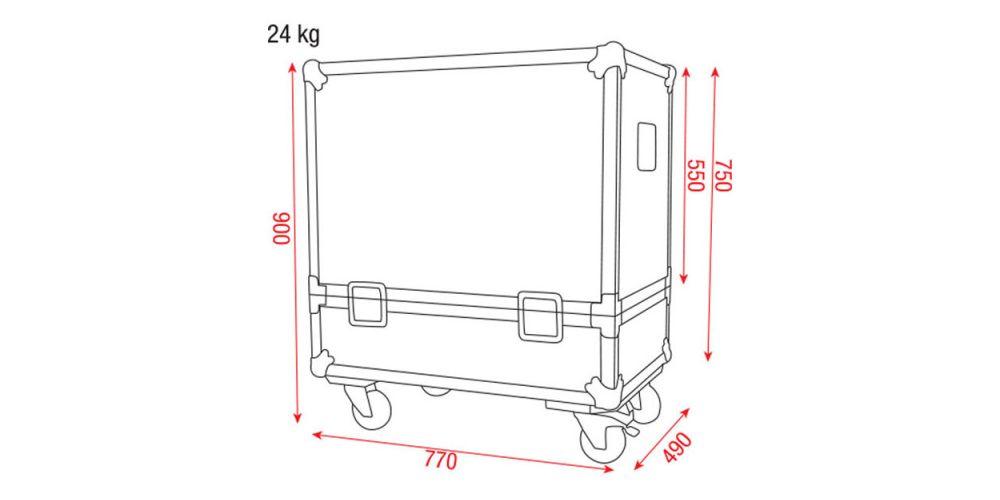 dap audio case for 2x k 112k 115 picture