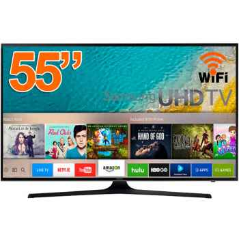 "SAMSUNG UE55KU6000 Tv Led UHD 4K 55"" Smart Tv"