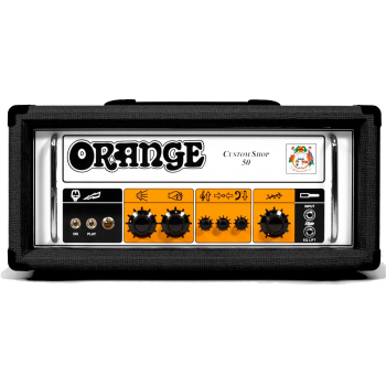 Orange CABEZAL CUSTOM SHOP 50 BK