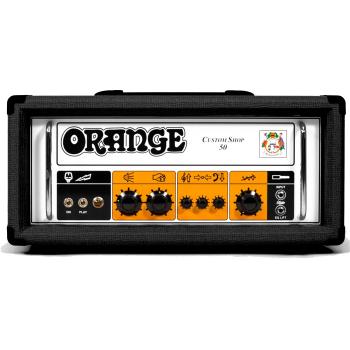 Orange CABEZAL CUSTOM SHOP 50 BK