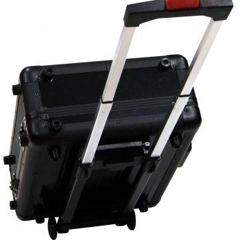 Walkasse WMC-ALSR Flight case aluminio universal M Ruedas y trolley