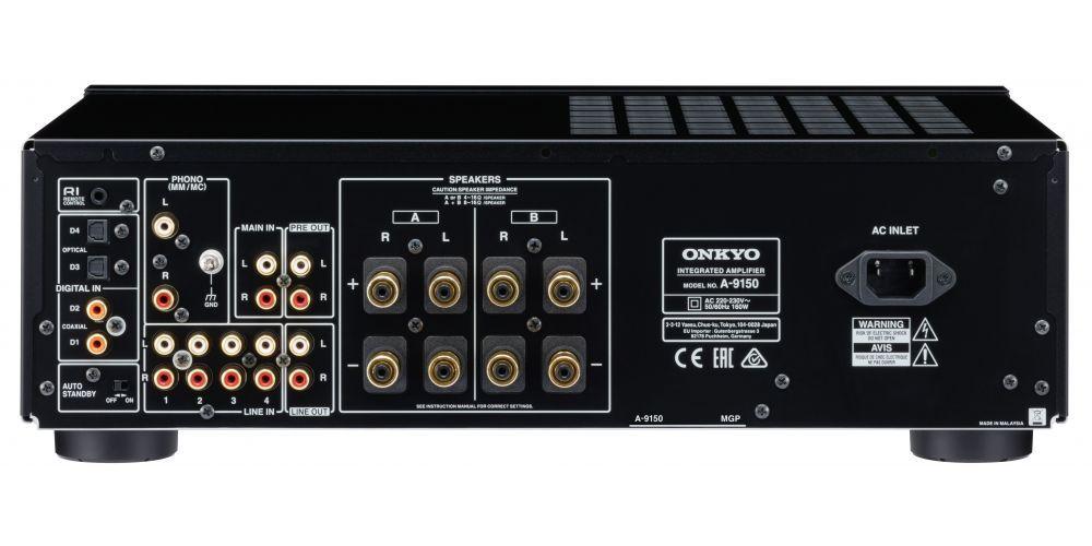 onkyo A 9150 conexiones