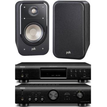DENON PMA-720 BK+DCD720BK+POLK AUDIO S20B