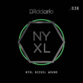 D´addario NYNW038 Cuerda Suelta para Guitarra Eléctrica