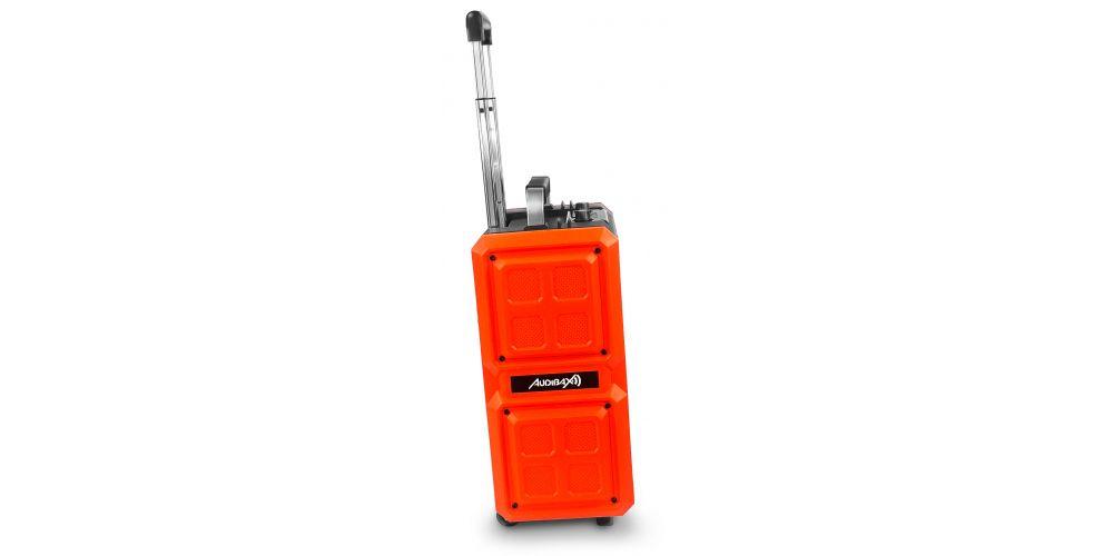 audibax port 10 orange lateral