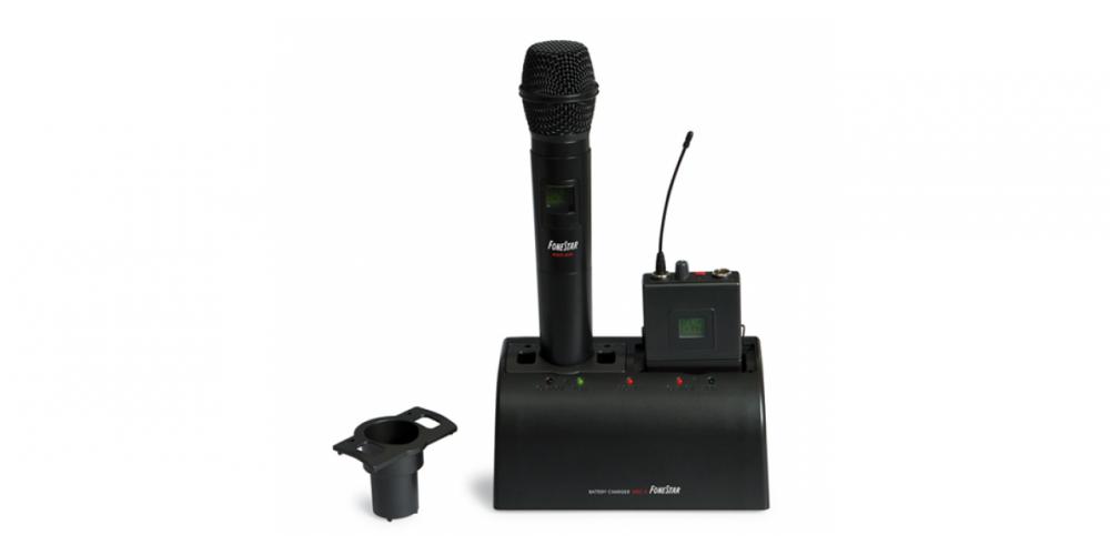 fonestar msc 2 cargador microfono
