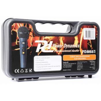 Power Dynamics Microfono Dinamico En Caja Transporte Pdm661 173428