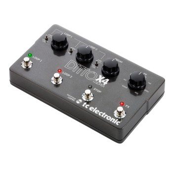 Tc electronic DITTO X4 LOOPER, Pedal Efectos -