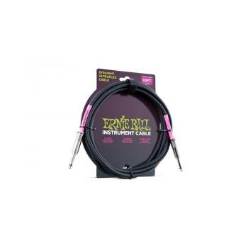 ERNIE BALL 6048 CABLE ULTRAFLEX JACK-JACK NEGRO - 2.5 m