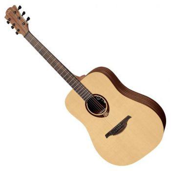 LAG ATL70D Guitarra Acústica Para Zurdos Tipo Dreadnought Acabado Natural Serie Tramontane