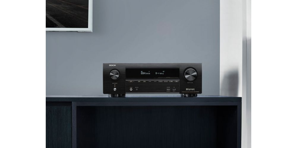Denon X1600H receptor av wifi bluetooth mando construccion en casa