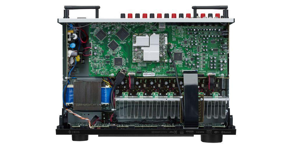 Denon X1600H receptor av wifi bluetooth mando construccion