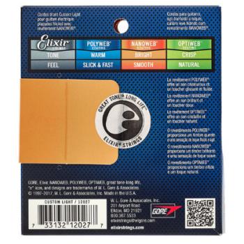 Elixir Nanoweb 12027 Custom Light 09-46