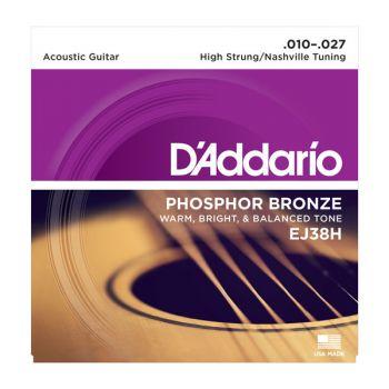 D´addario EJ38H Juego de cuerdas guitarra acústica