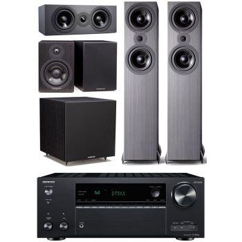 ONKYO TX-NR686 Negro+Cambridge Audio SX-80 Black 5.1 Cinema Pack