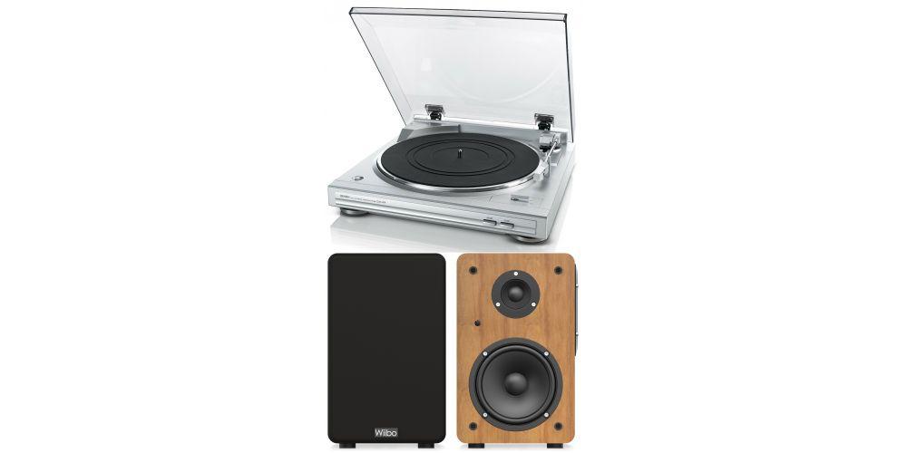 denon dp29 wiibo neo100 altavoces bluetooth hifi conjunto sonido