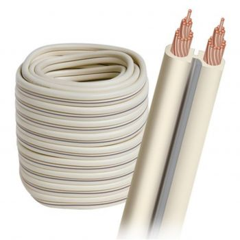Audioquest G-2W-50FT Rollo de Cable altavoz de 15 metros y 1,31 mm Color Blanco