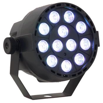 Ibiza Light PAR BAT-RGB3 Foco Par Led 12 X 3W RVB 3-EN-1 Con Bateria