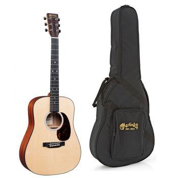 Martin DJR-10E Guitarra Electro-Acustica con Funda