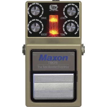 Maxon TBO-9 True Tube Booster / Overdrive Pedal Efectos Guitarra