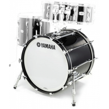 Yamaha Recording Custom Solid Black Bombo 18x14 RBB1814SOB