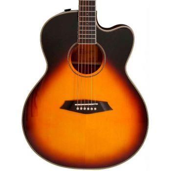 Larry Carlton A3-G Guitarra Acústica Cutaway Vintage Sunburst