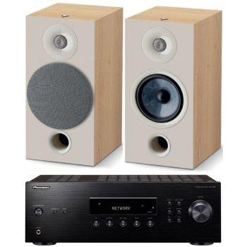 PIONEER SX-10AE-B+Focal Chora 806 Walnut, Conjunto Audio