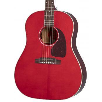 Gibson J-45 Standard Cherry Guitarra Electroacústica