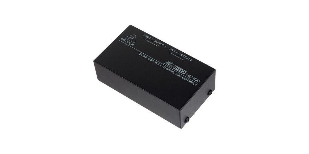 BEHRINGER HD400P Cajas DI Behringer HD-400P