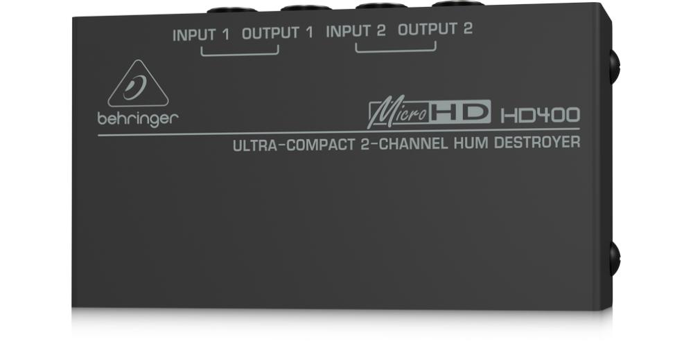 HD400 behringer rear