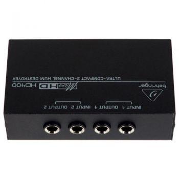 HD400 BEHRINGER CONEXIONES
