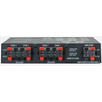 APART SVC4 Control Multiple de Volumen de Estereo Para 4 Zonas