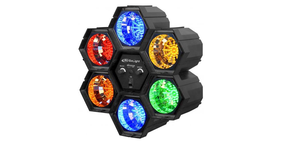 JBSYSTEMS LED SIXLIGHT Efectos de Iluminación led