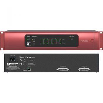 Focusrire  REDNET-1 Conversor Ethernet AD/DA de 24 bits, 8 canales