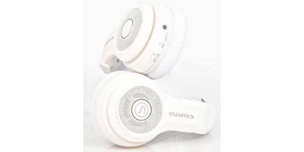SISTEMA TUM TUM Auriculares Bluetooth Altavoz Blancos