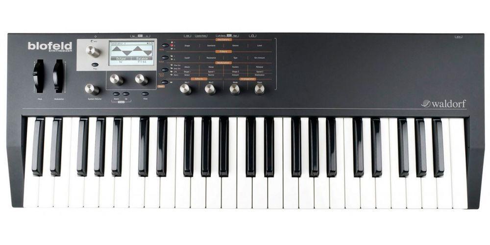 Waldorf Blofeld Keyboard Black Sintetizador