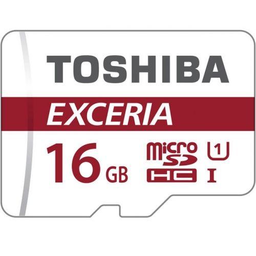 TOSHIBA Micro SD 16Gb Clase 10 + Adaptador SD THN-M301R0160EA