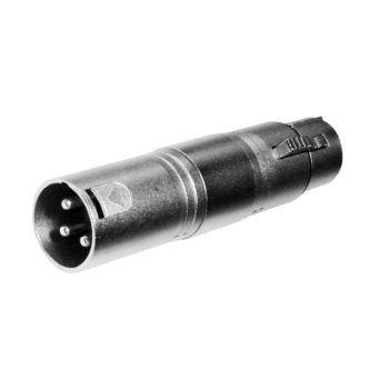Adaptador XLR Hembra a XLR Macho RF:501