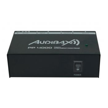 Audibax PP4000 Previo Phono RIAA. Interruptor ON/OFF