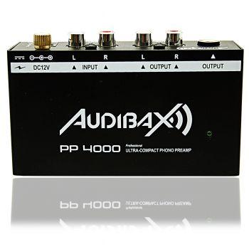 Audibax PP4000 Preamplificador Phono y Ecualizador RIAA Tocadiscos