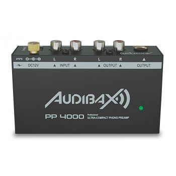 Audibax PP4000 Previo Phono RIAA. Interruptor ON/OFF